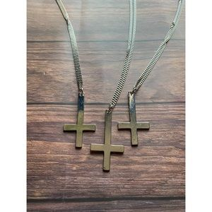 Jewelry - Inverted Cross Necklace